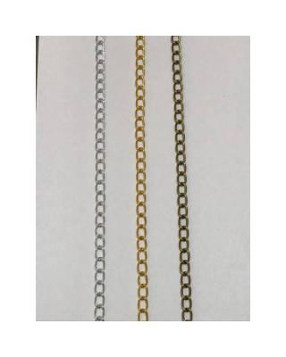 Αλυσίδα πλακέ 1 cm