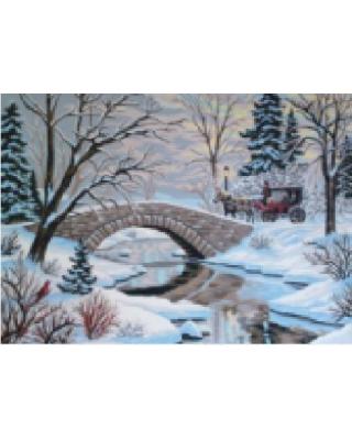 Χιονισμένη γέφυρα