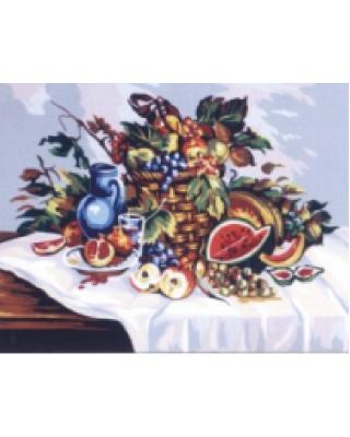 Η πιατέλα με τα φρούτα