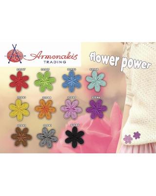 Θερμοκολλητικά μοτίφ λουλούδι