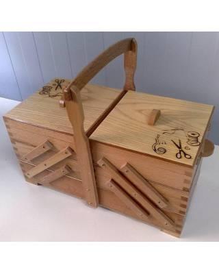 Ξύλινο Κουτί Ραπτικής