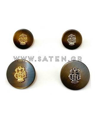 Κουμπιά μεταλλικά Μ 11582