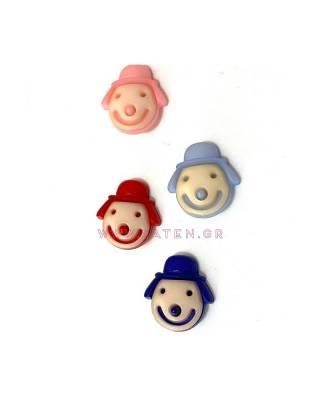 Κουμπιά Παιδικά Κλόουν